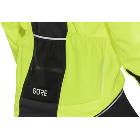 GORE WEAR C5 Windstopper Thermo Jacket Herre neon yellow/black